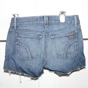 Joe's womens cuf off shorts size 27 -681-